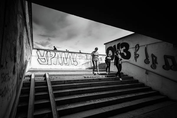 Photograph - The Underpass by John Williams