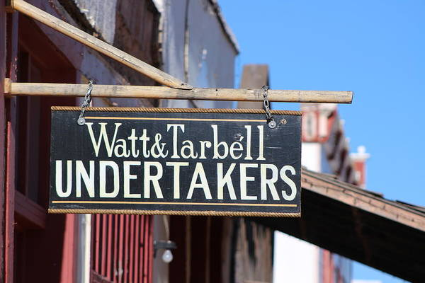 Photograph - The Undertakers by Colleen Cornelius
