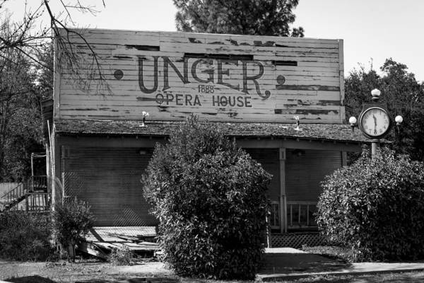 Photograph - The Unger Opera House by Gene Parks