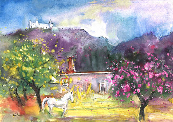 Painting - The Unicorn Of Turre by Miki De Goodaboom
