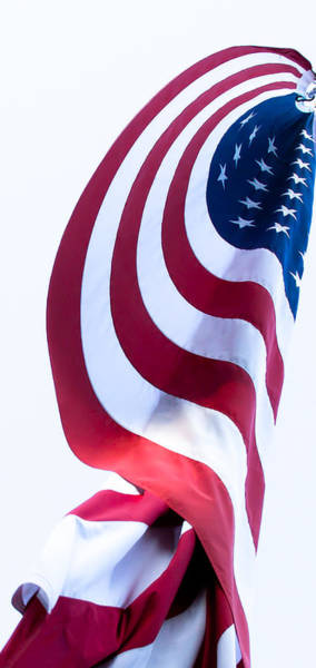Photograph - The United States Flag by David Patterson