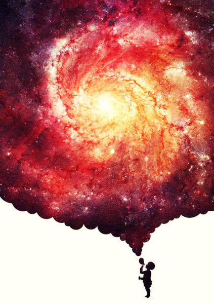 Space Exploration Digital Art - The Universe In A Soap Bubble by Philipp Rietz