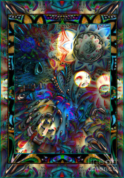 Mixed Media - The Universe Is Calling by Wbk