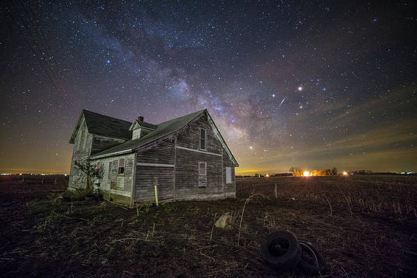 Abandoned House Wall Art - Photograph - The Unknown by Aaron J Groen