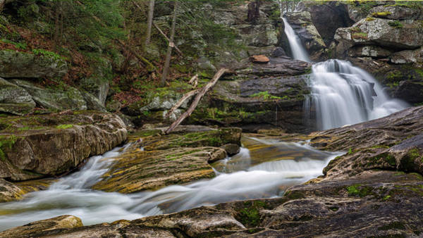 Photograph - The Upper Falls by Bill Wakeley