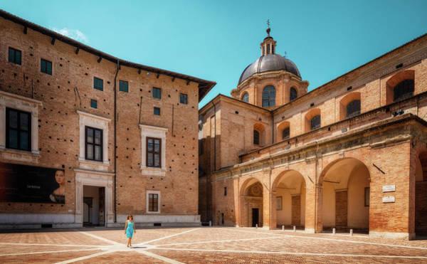 Photograph - The Urbino Cathedral - Urbino, Italy by Nico Trinkhaus