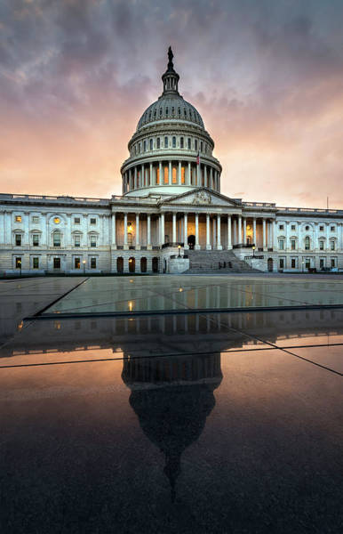 Photograph - The Us Capital by Ryan Wyckoff