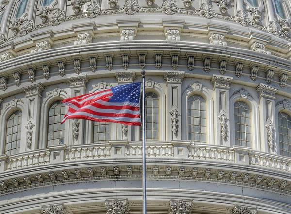 The Us Capitol Building - Washington D.c. Art Print
