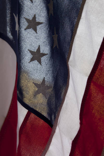 Photograph - The Usa Flag by Jon Glaser