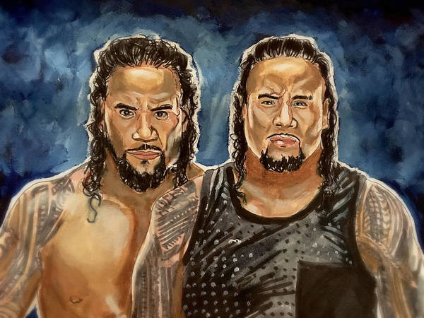 Painting - The Usos by Joel Tesch