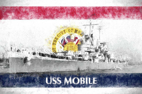 Wall Art - Photograph - The Uss Mobile by JC Findley