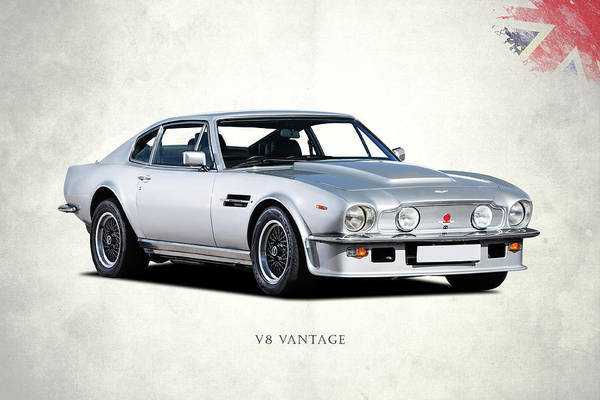 Wall Art - Photograph - The V8 Vantage by Mark Rogan