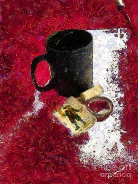 Painting - The Vagaries Of Fortune by RC DeWinter