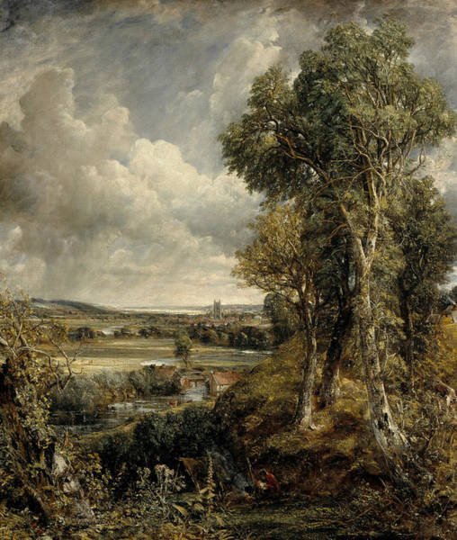 Painting - The Vale Of Dedham by John Constable