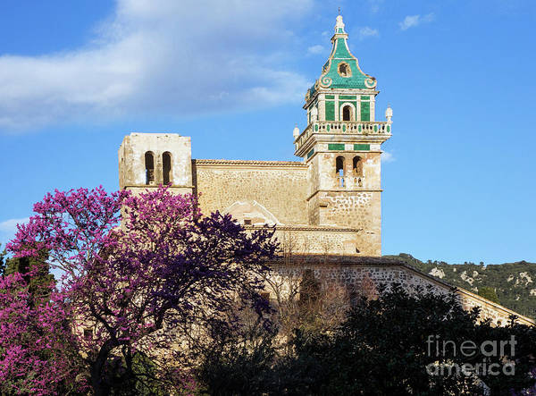 Carthusian Photograph - The Valldemossa Mallorca Charterhouse In Springtime by Kenneth Lempert