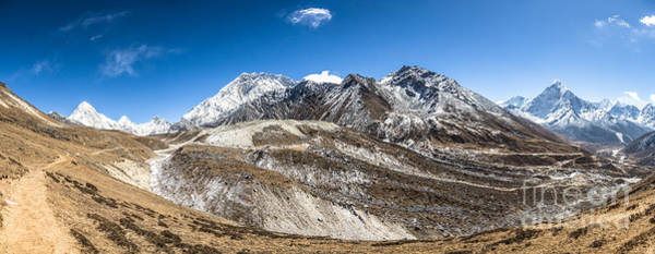 Photograph - The Valley Leading To Mt Everest In Nepal by Didier Marti
