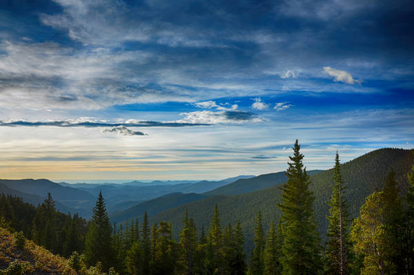 Photograph - The Valley Of Mount Evans by Angelina Tamez