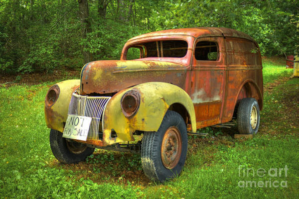 Ford Van Photograph - The Van Too by Reid Callaway