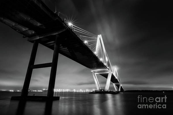 Norma Wall Art - Photograph - The Vanishing Point In Black And White by Norma Brandsberg