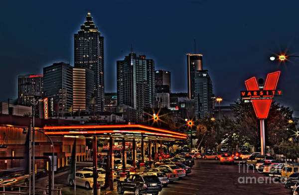 Conyers Photograph - The Varsity Atlanta by Corky Willis Atlanta Photography