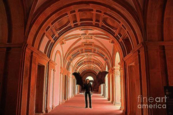 Satan Digital Art - The Vatican Vampire by Raphael Terra