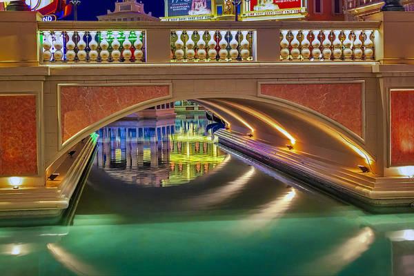 Photograph - The Venetian Las Vegas Gondolas II by Susan Candelario