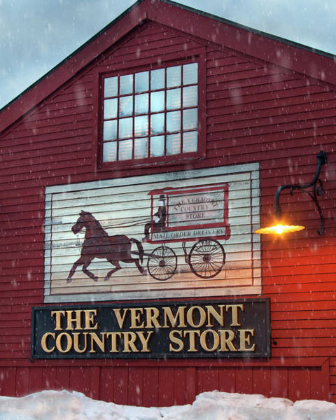 Photograph - The Vermont Country Store by Joann Vitali