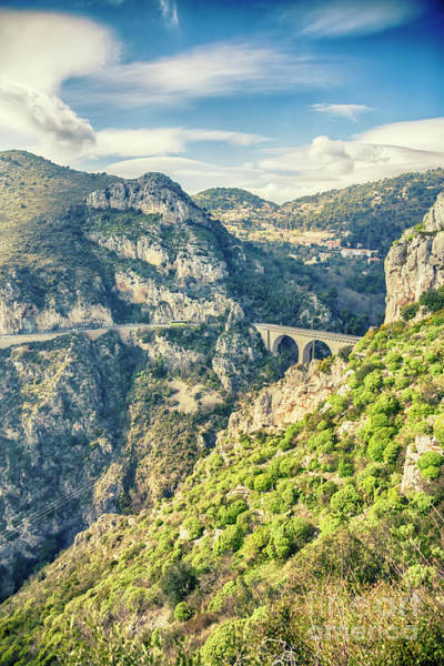 Photograph - The Viaduct Of Eze, The Bridge Of The Devil by Ariadna De Raadt