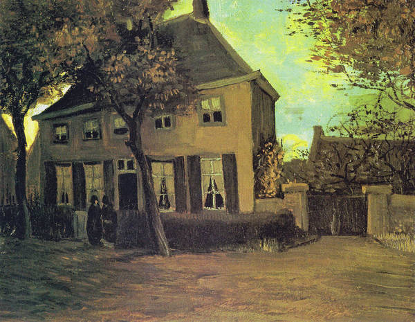 Painting - The Vicarage In Nuenen by Vincent van Gogh