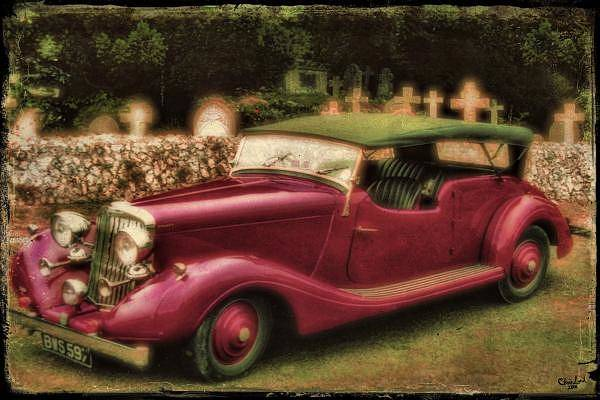 Photograph - The Vicar's Roadster by Chris Lord