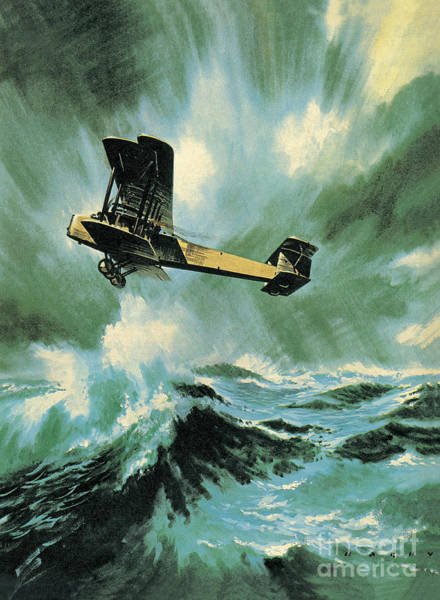 Wall Art - Painting - The Vickers Vimy by Wilf Hardy