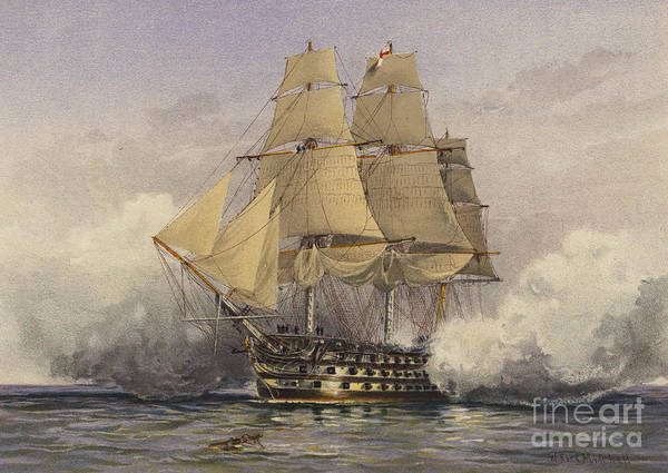 Past Painting - The Victory by William Frederick Mitchell