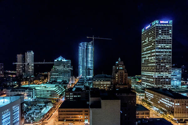 Photograph - The View From Blu by Randy Scherkenbach