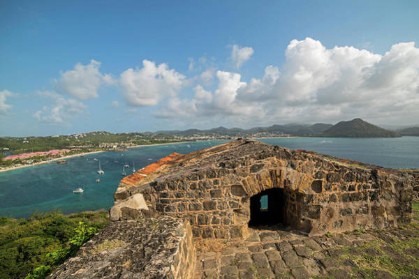 Photograph - The View From Fort Rodney On Pigeon Island Gros Islet Caribbean by Toby McGuire