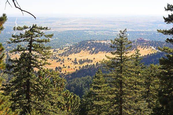 Photograph - The View From The Flatirons Looking Down On Boulder, Co by Toby McGuire