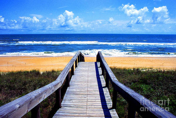Flagler Beach Photograph - The View by Thomas R Fletcher