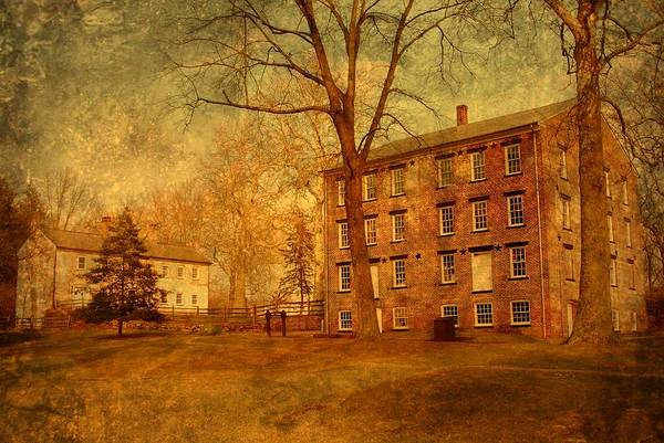 Photograph - The Village - Allaire State Park by Angie Tirado
