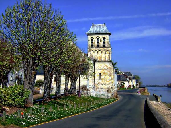 Photograph - The Village Of Le Thoureil by Anthony Dezenzio