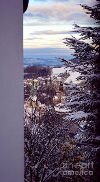 Photograph - The Village - Winter In Switzerland by Susanne Van Hulst