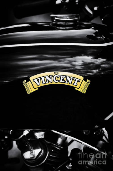 Photograph - The Vincent Comet by Tim Gainey