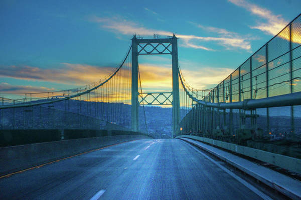 Wall Art - Photograph - The Vincent Thomas Bridge by Art Spectrum