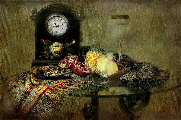 Wall Art - Photograph - The Vintage Clock by Diana Angstadt