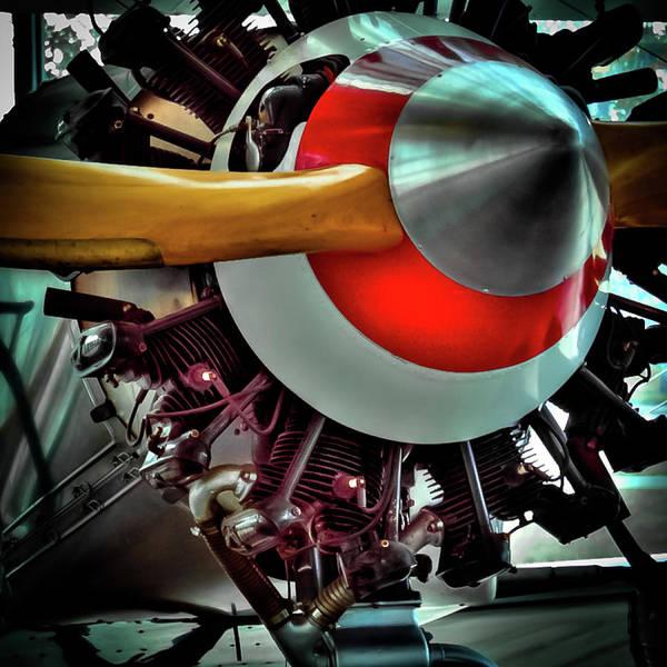 Photograph - The Vintage Stearman C-3b Biplane by David Patterson