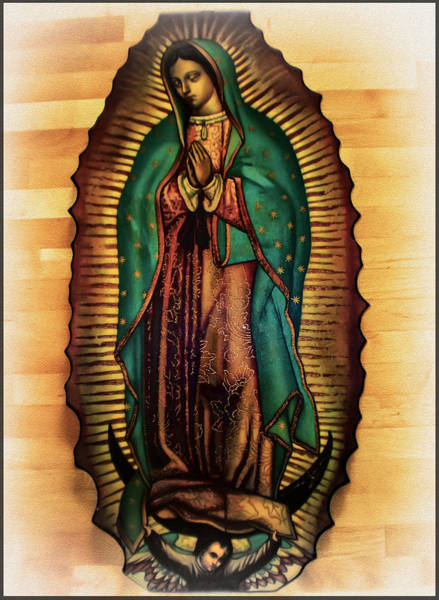 Photograph - The Virgin Of Guadalupe  by Digital Reproductions