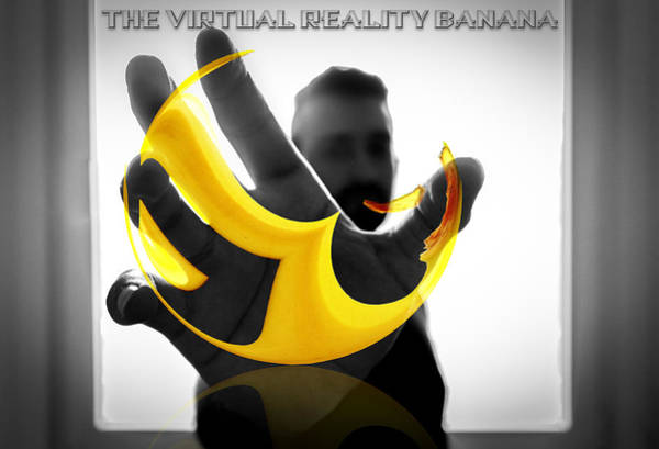 The Virtual Reality Banana Art Print