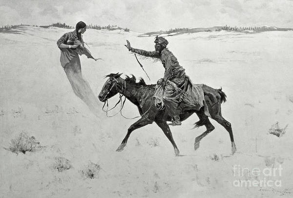 Painting - The Vision by Frederic Remington