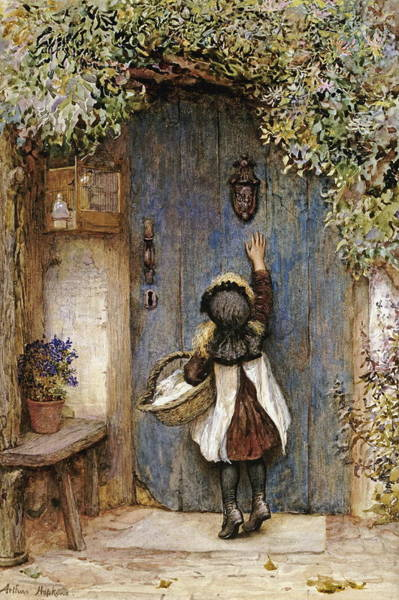 Wall Art - Painting - The Visitor by Arthur Hopkins
