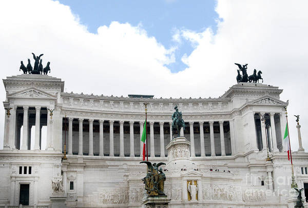 Photograph - The Vittoriano Is A Symbol Of A United Italy by Brenda Kean