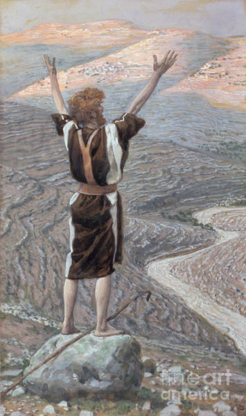 Wall Art - Painting - The Voice In The Desert by Tissot