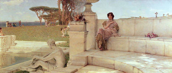 Painting - The Voice Of Spring by Sir Lawrence Alma-Tadema